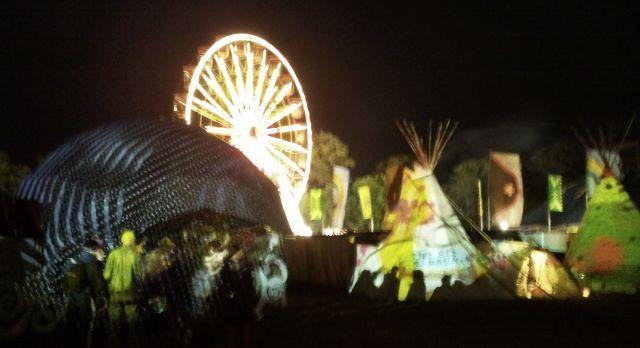 Electric Picnic Ferris Wheel