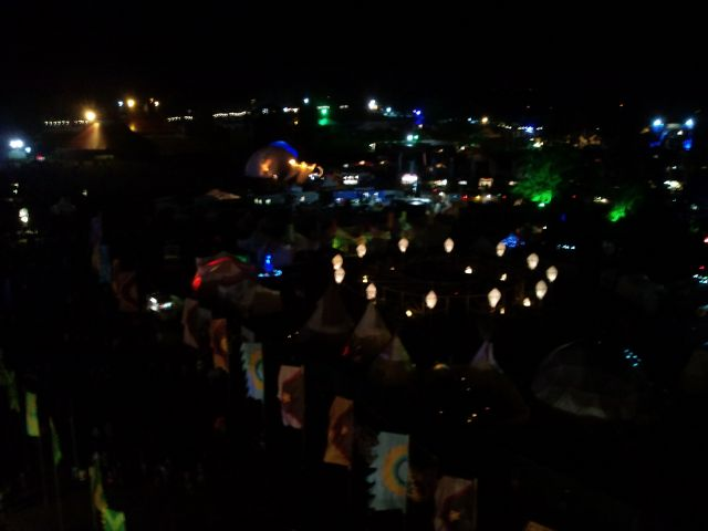 Electric Picnic - View From Atop The Ferris Wheel