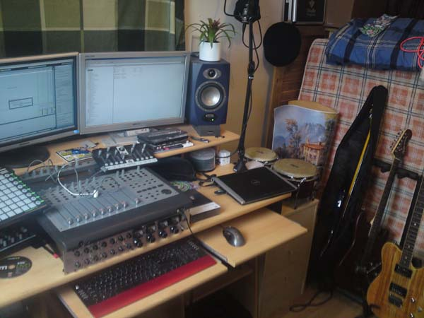 Groovy Music Production Workspaces Largest Home Design Picture Inspirations Pitcheantrous