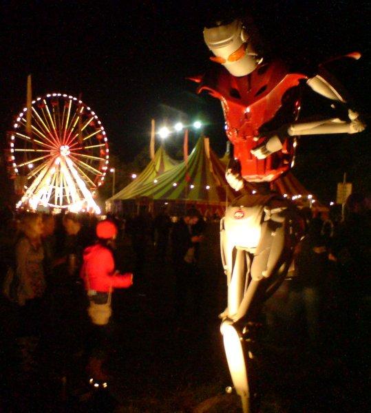 Electric Picnic - Arcadia Robot