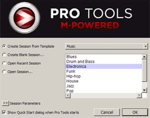 Pro Tools 8 Templates